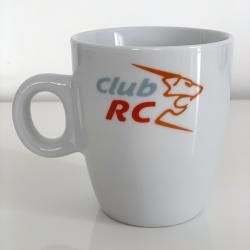 La tasse avec marquage tricolore Club RC